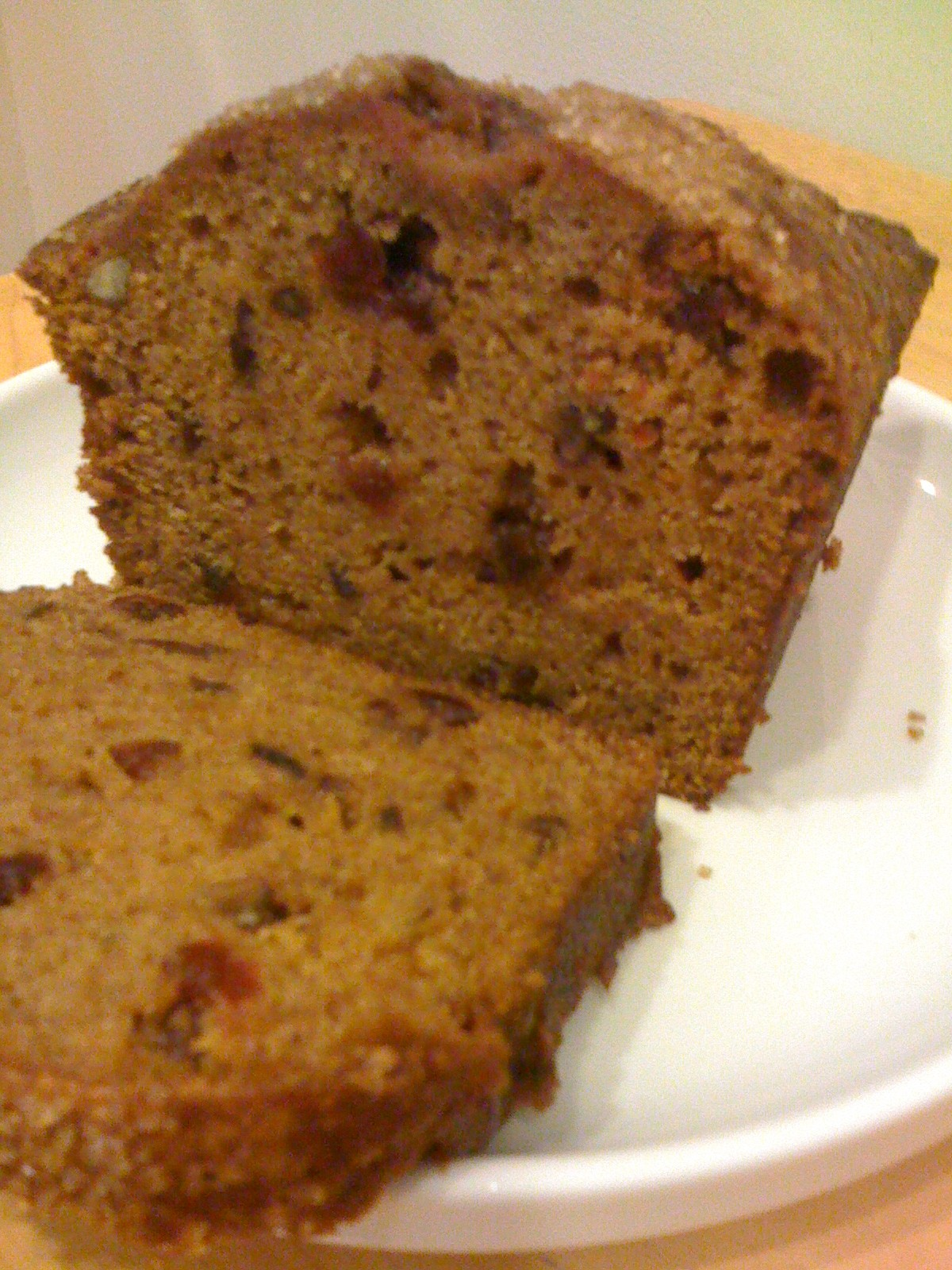 Sweet Potato Bread with Dried Cranberries & Walnuts | Cultivating ...
