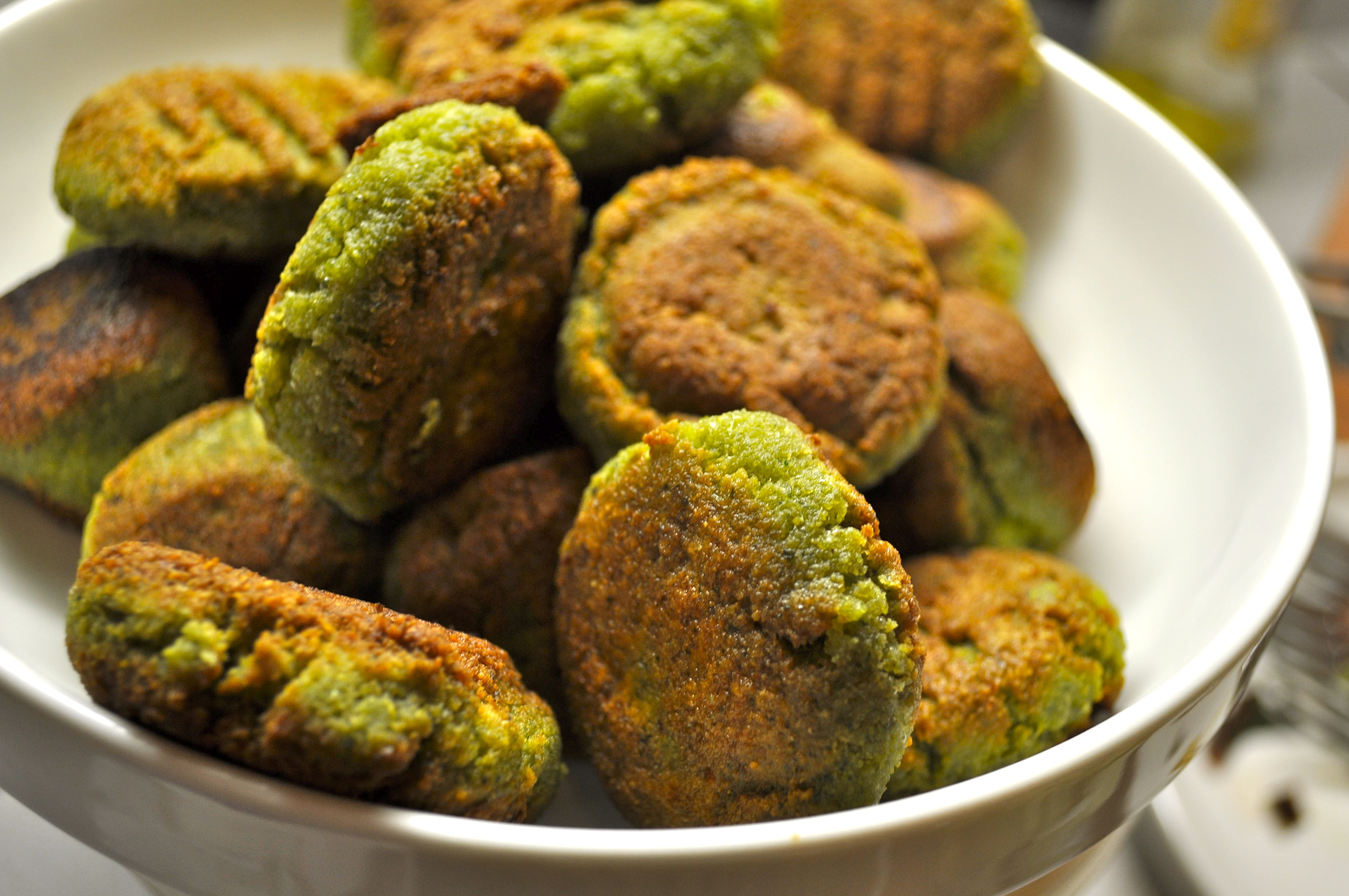 Herb & Garlic Falafel with Tahini Sauce | Cultivating Sustainability