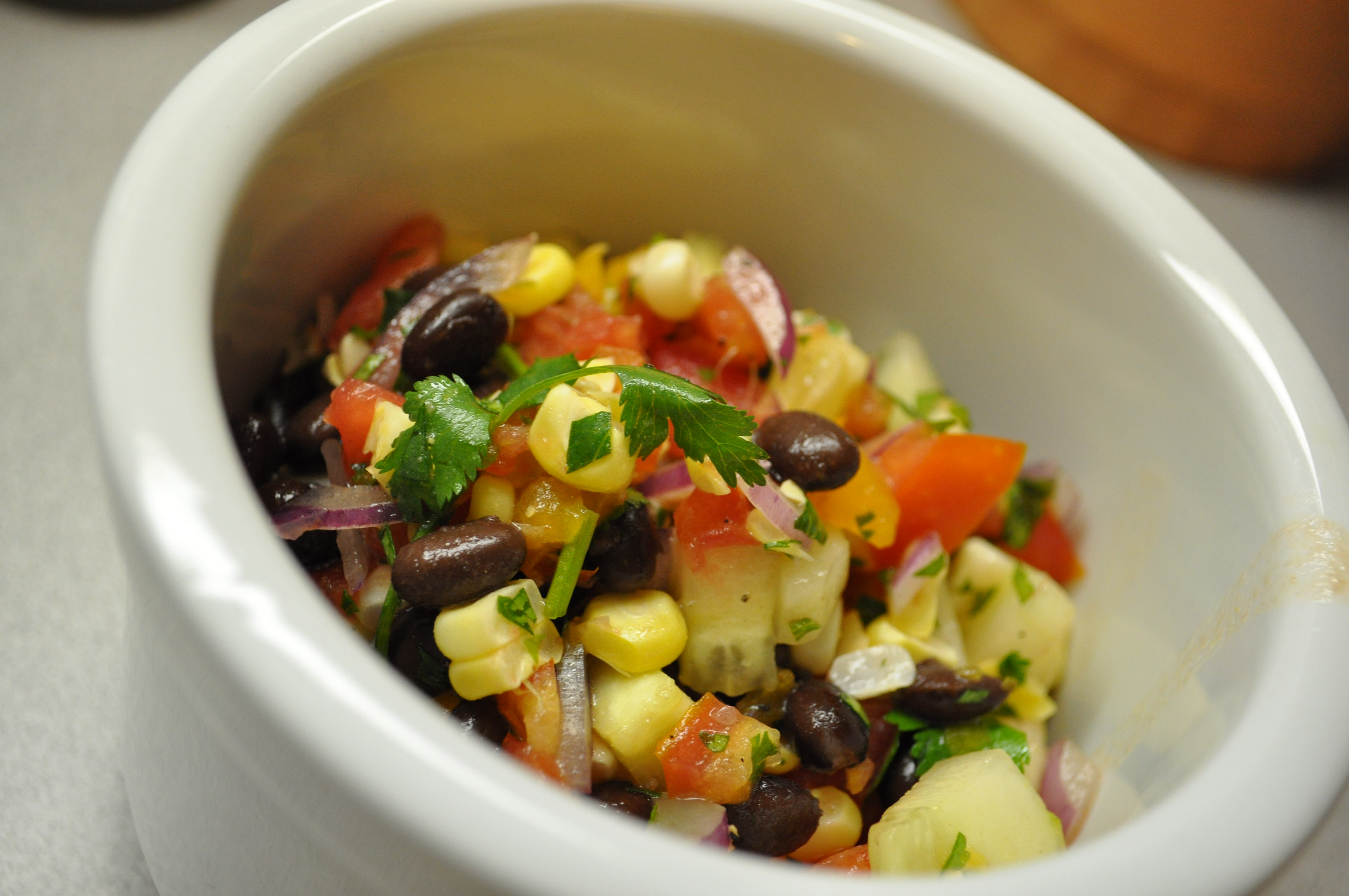 Sweet Corn, Cucumber & Tomato Salad | Cultivating Sustainability